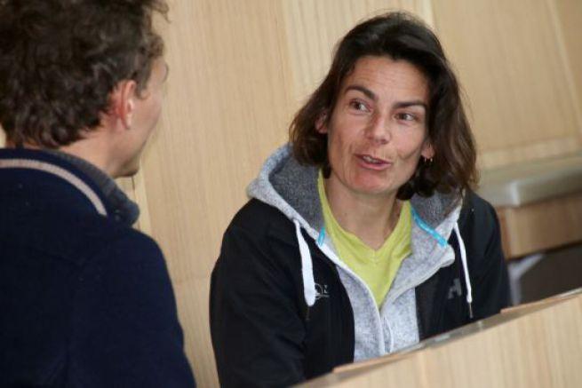 Karine Fauconnier prend la tête de Lorient Grand Large