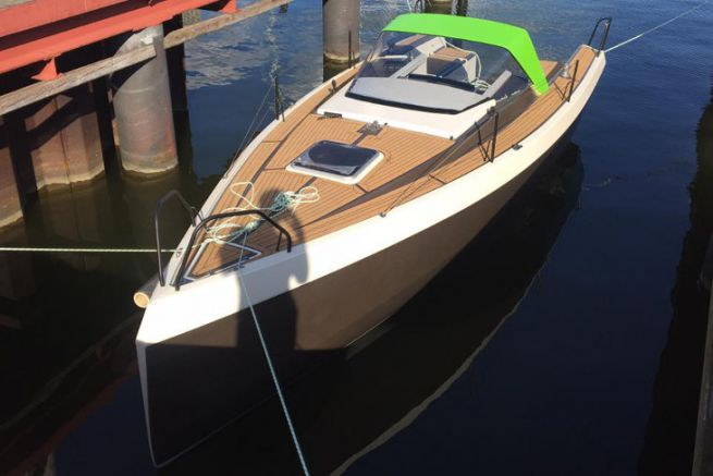 Bente 24 Green Edition réalisé en sous-traitance par GreenBoats