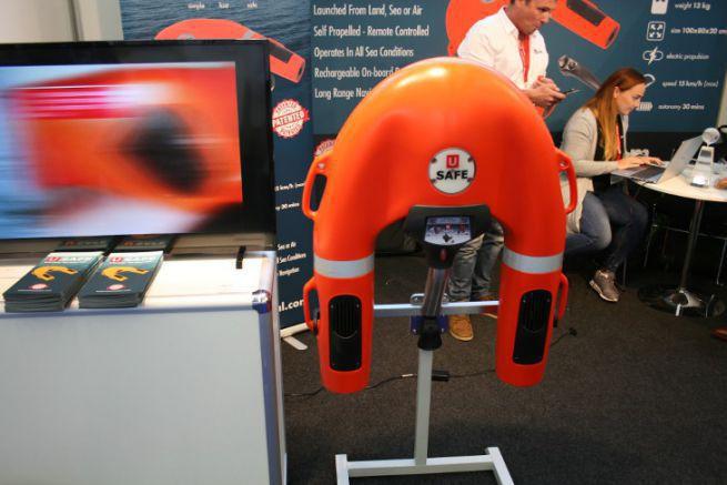 Le drone de sauvetage USafe, vainqueur toutes catégories du DAME Award  au METS Trade 2019
