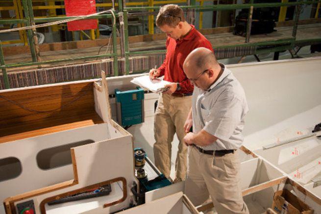Inspecteurs de l'American Boat and Yacht Council