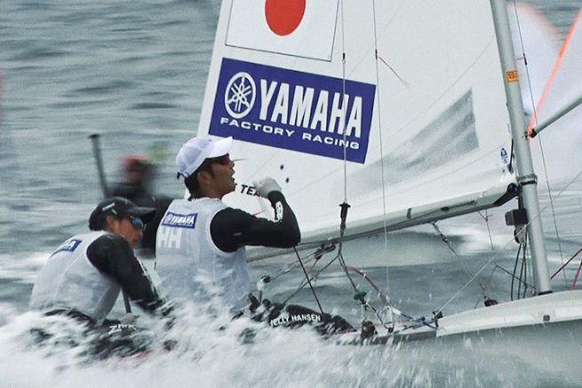 Dériveur 470 construit par Yamaha