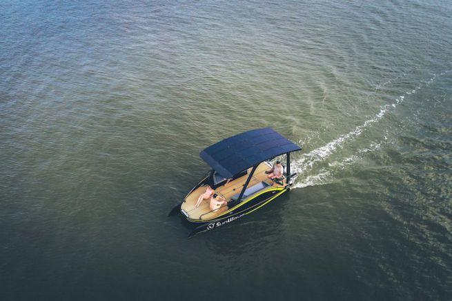 Le Sun Wave S2, bateau électrique de l'année 2019