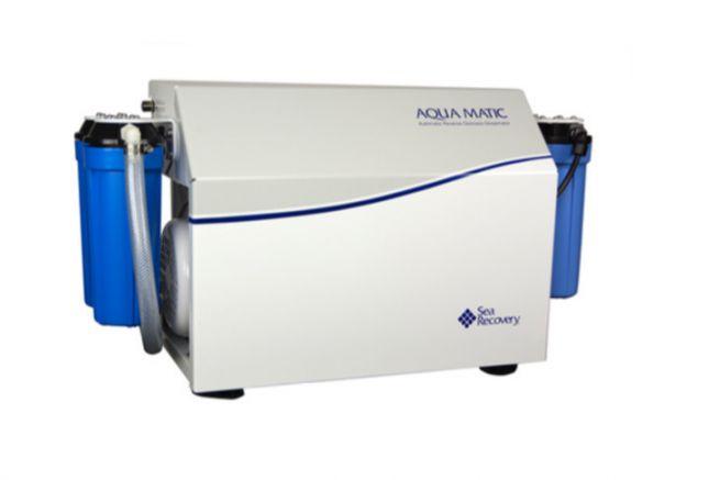 Dessalinisateur AquaMatic de Sea Recovery, distribué par la Compagnie Hydrotechnique