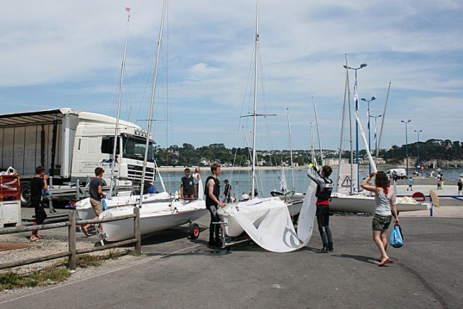 Les ecoles de voile remplacent avantageusement un permis bateau pour les voiliers