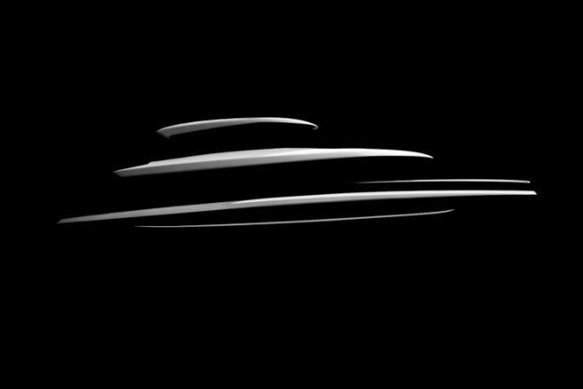 Silhouette du Cetera Yacht 62