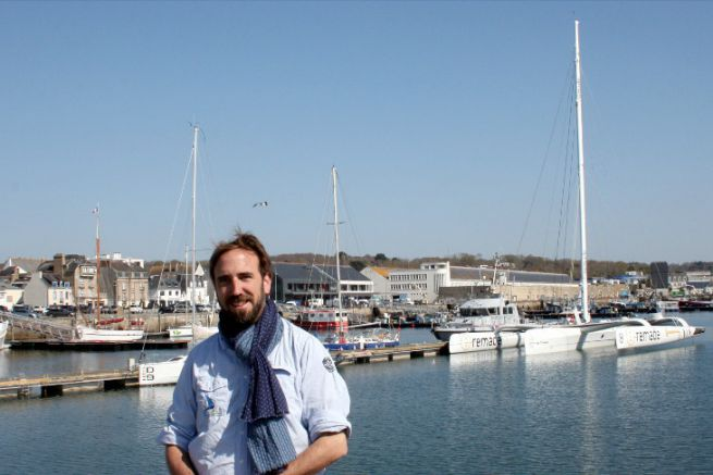 Sébastien David, fondateur de Kerboat Services