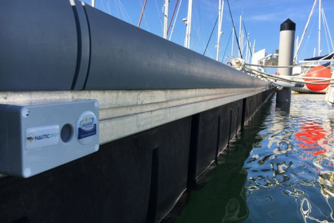 Capteur Nauticspot pour la supervision des ports de plaisance