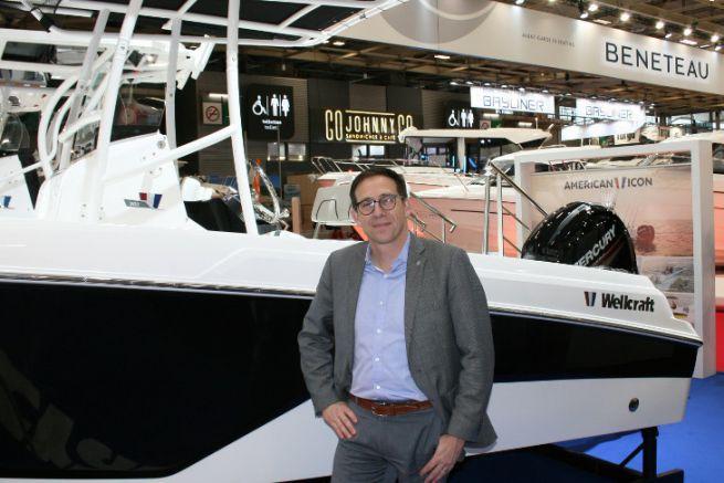 Christophe Lavigne, président des marques US du groupe Bénéteau
