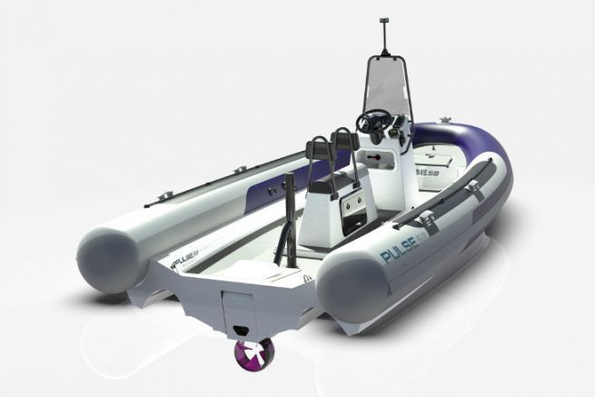 Image du 1er semi-rigide électrique de RS Electric Boats
