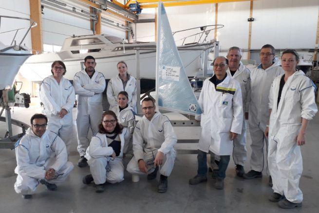 Visite de site organisée par le Campus des Métiers et des Qualifications du nautisme en Pays de la Loire
