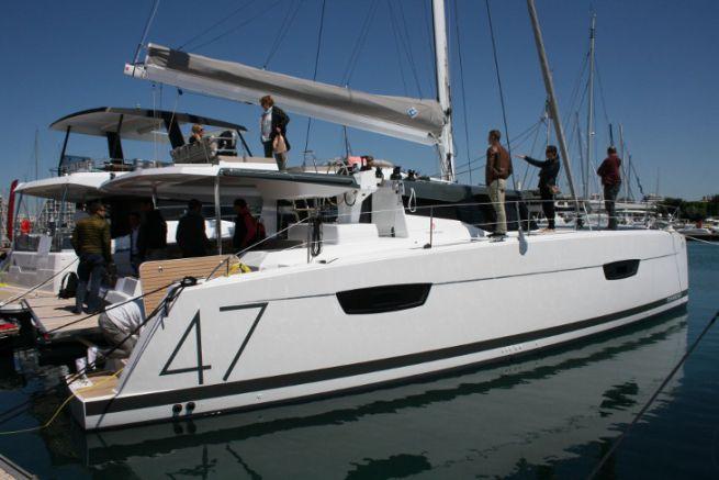 Les multicoques ont une part importante dans la croissance de l'industrie nautique française