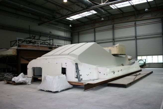 Moule du A2V réalisé par SMM Technologies