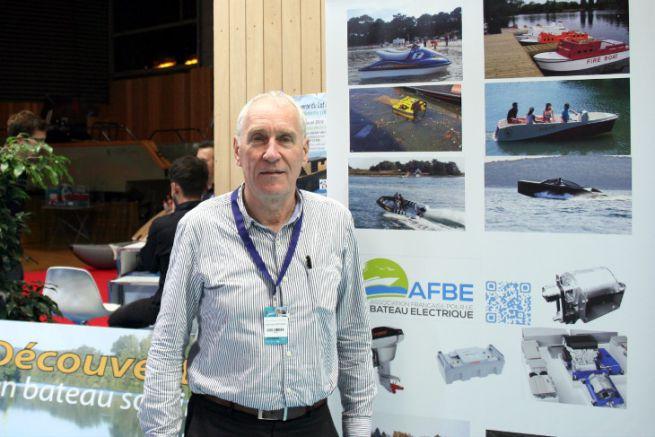 Xavier de Montgros, président de l'Association Française pour le Bateau Electrique