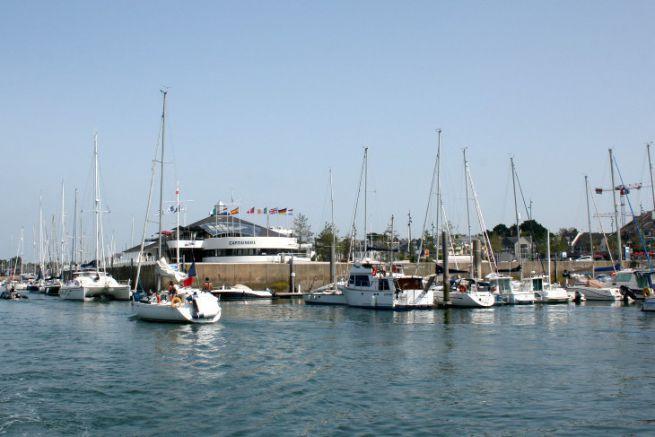 Port du Crouesty, géré par la Compagnie des Ports du Morbihan