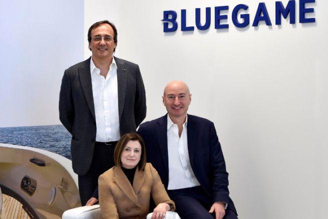 Carla Demaria aux côtés de Massimo Perotti et Ferruccio Rossi