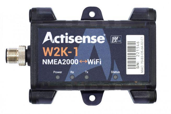 W2K-1, passerelle wifi NMEA 2000 d'Actisense