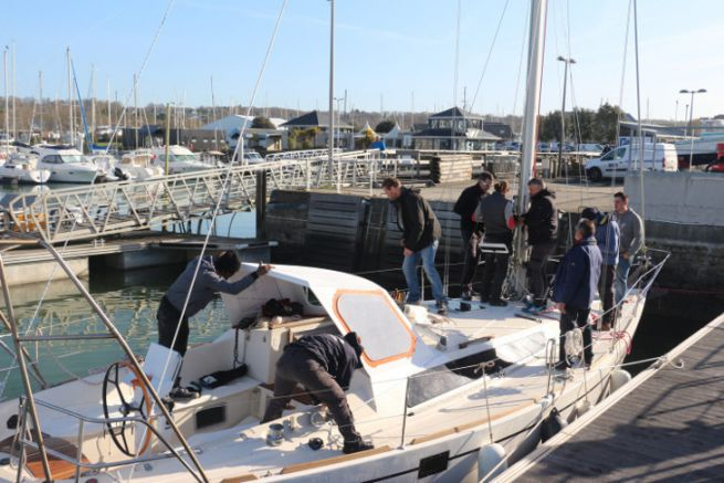 Formation aux métiers du nautisme à l'INB
