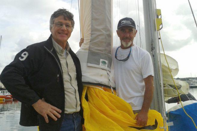 La chaussette de spi ATN est utilisée par de célèbres skippers comme Loïck Peyron