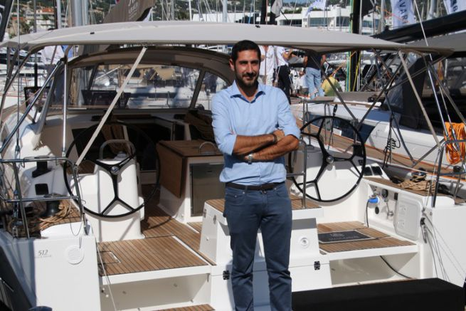 Paolo Serio, directeur marketing de Dufour Yachts