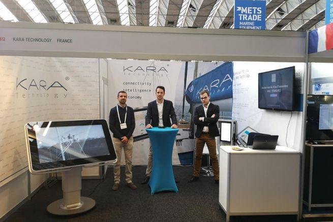 L'équipe de Kara Technology au METS Trade