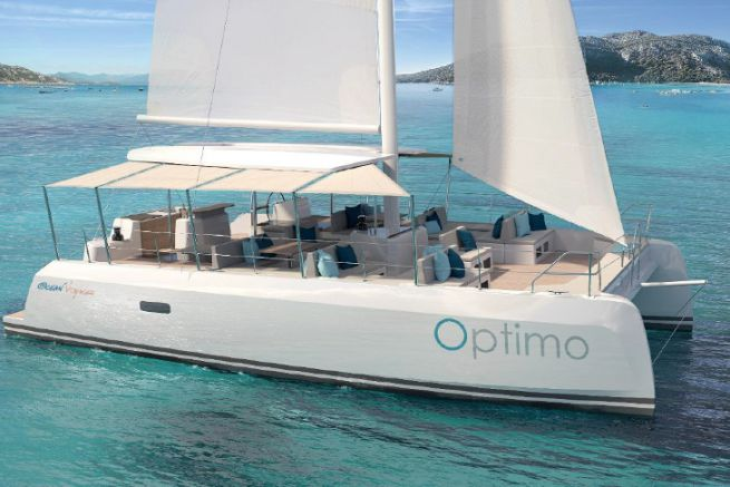 Optimo 40, la nouveau catamaran de day-charter d'Ocean Voyager