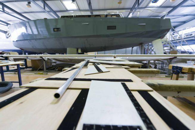 Aménagement d'un voilier de voyage au chantier Olbia à Gujan-Mestras