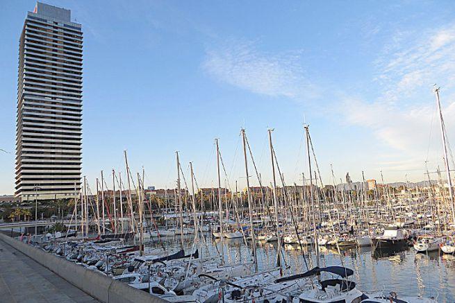 Port Olimpic de Barcelone