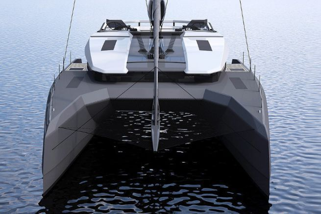 Futur catamaran MC50 de McConaghy