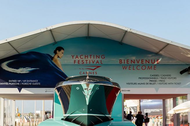 Entrée du Cannes Yachting Festival
