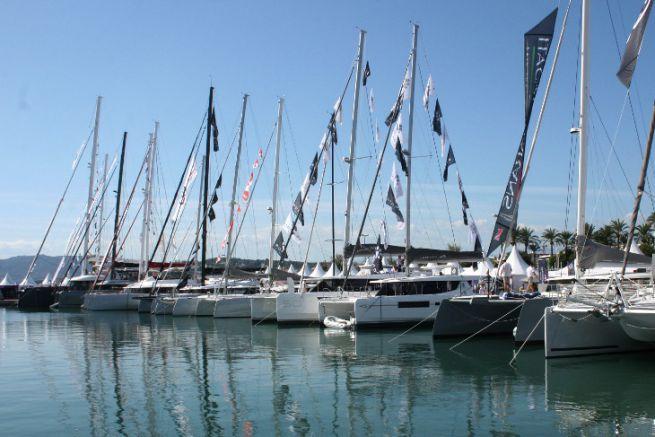 Multicoques à Port Canto lors du Cannes Yachting Festival 2019