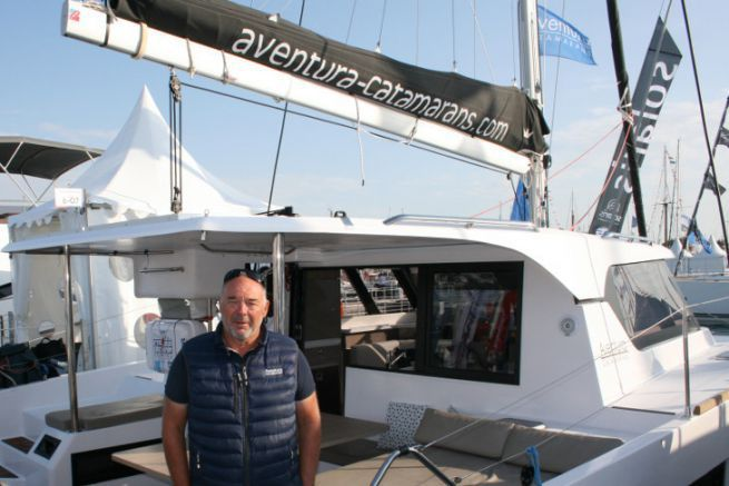Eric Roger, Manager délégué d'Aventura Catamarans