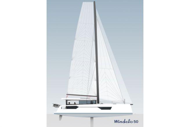 Profil du futur catamaran Windelo 50