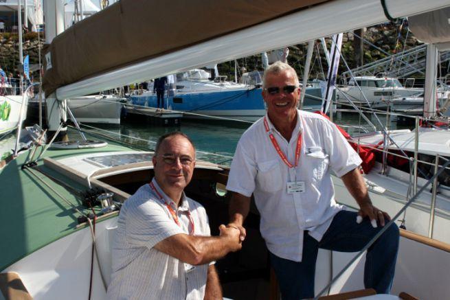 Patrick Bergeat et Antoine Carmichael relancent les petits modèles de voiliers Pabouk