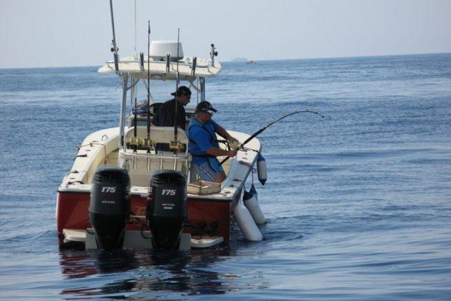 Pêche de loisir en mer