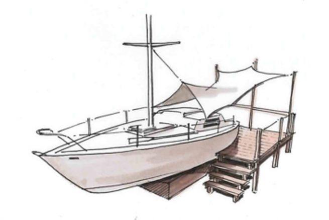 Projet de reconversion de bateau hors d'usage par Batho
