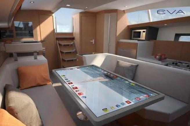 Le bateau connecté d'Allures Yachting et Kara Technology