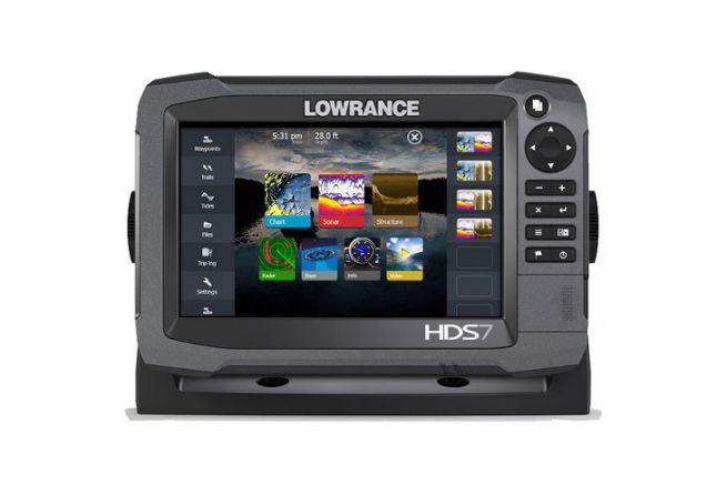 Electronique marine Lowrance