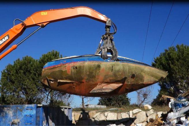 Déconstruction de bateau par D3EPACA