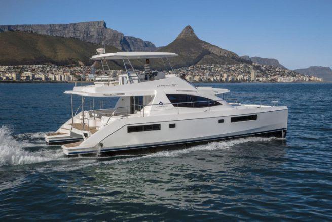 Bateau du chantier sud-africain Leopard Catamarans