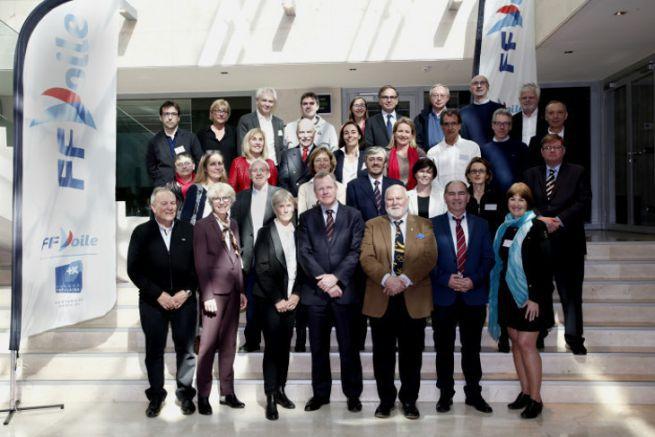Nouveau conseil d'administration de la FFVoile