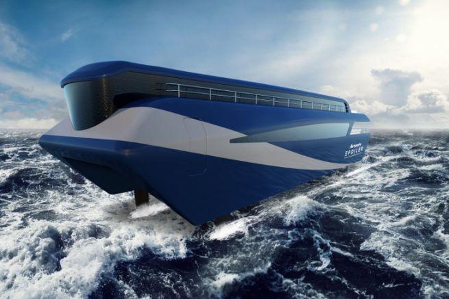 Image du projet de ferry à foil d'Artemis Technologies