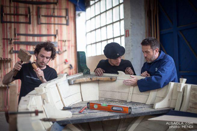 Albaola ouvre son école de charpentier de marine