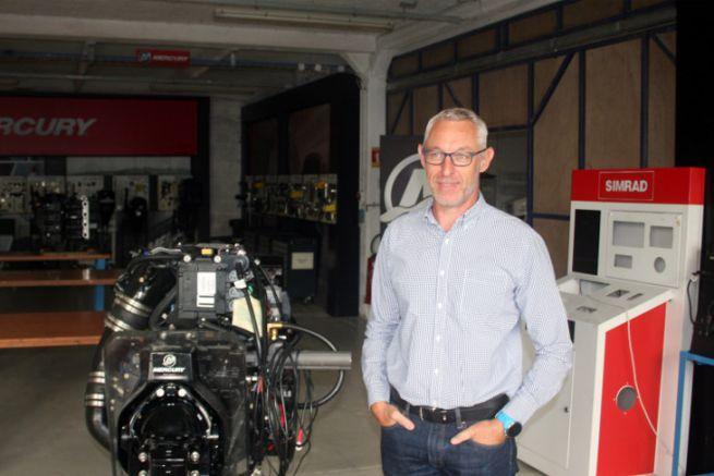 Laurent Winisky, directeur de l'INB