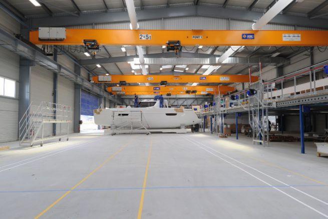 Nouvelle usine Fountaine Pajot d'Aigrefeuille d'Aunis