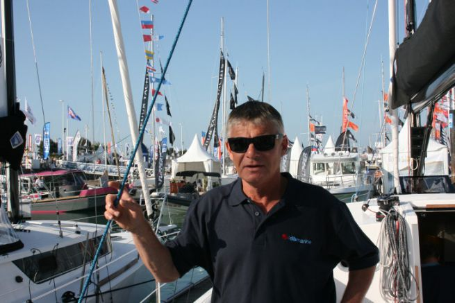 Denis Bourbigot, patron d'IDB Marine