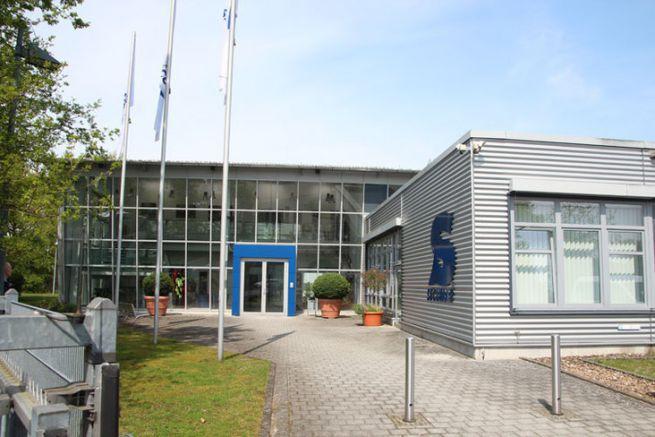 Les bâtiments de SECUMAR à Holm