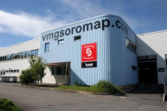 Site de production de VMG Soromap