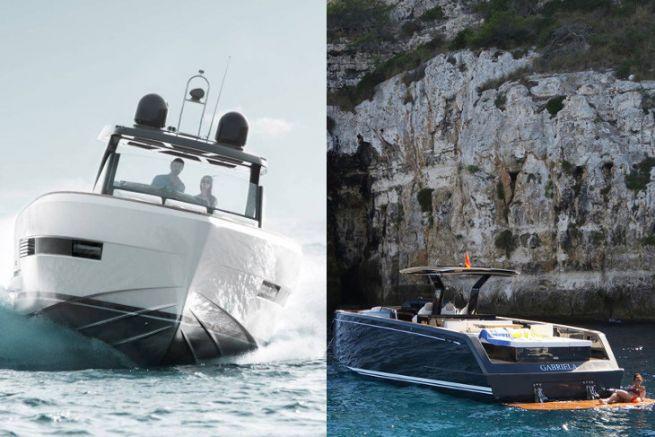 Fjord 42 (à gauche) et Pardo 43 (à droite)