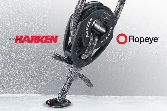 Harken et Ropeye s'associent pour la distribution et le développement produit