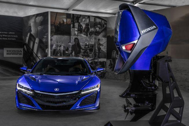 Concept Engine de Honda Marine